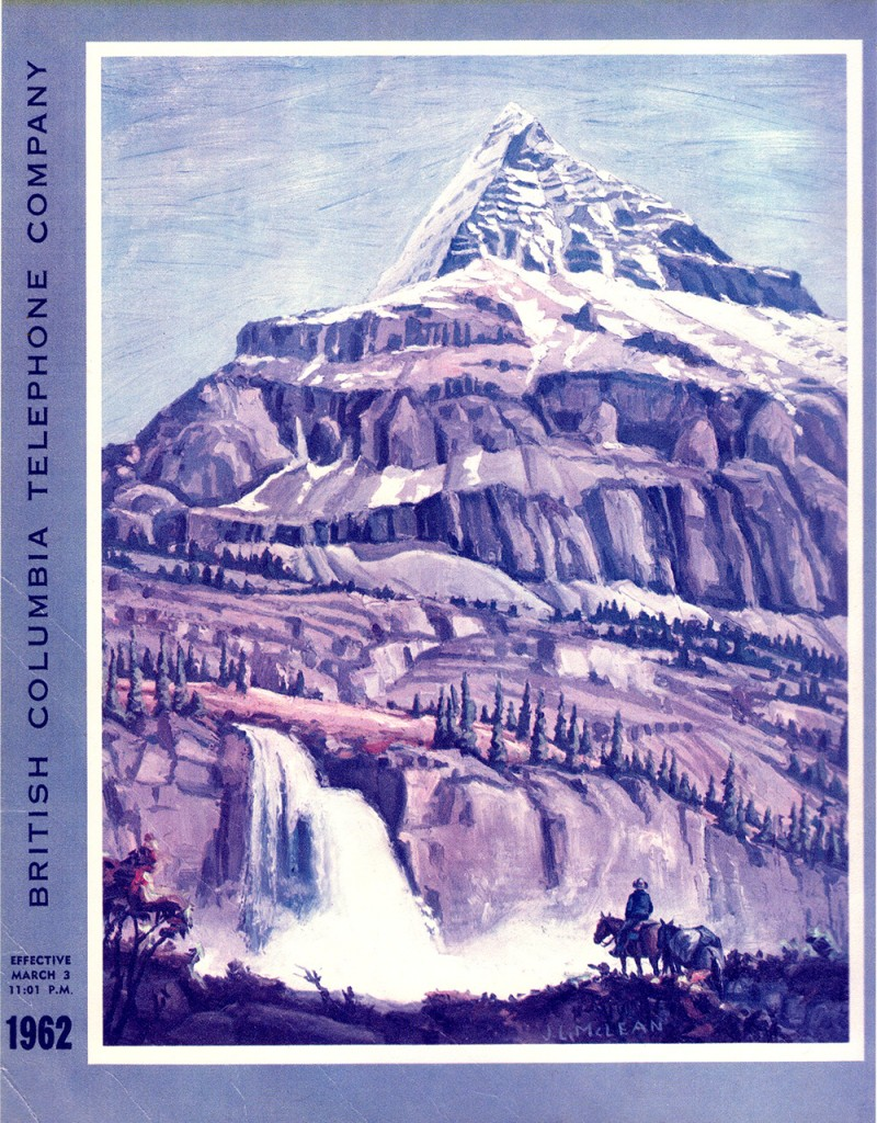 British Columbia Telephone Book, 1962